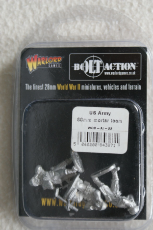 Warlord Games 28mm WGB-AI-22 US Army 60mm Mortar Team